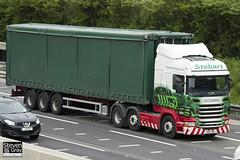 Scania R440 6x2 - PK62 MPX - Honey Amelia - Eddie Stobart - M1 J10 Luton - Steven Gray - IMG_0522