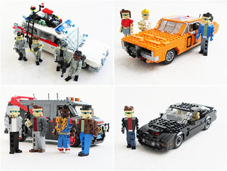 Cars from Eighties TV shows and movies