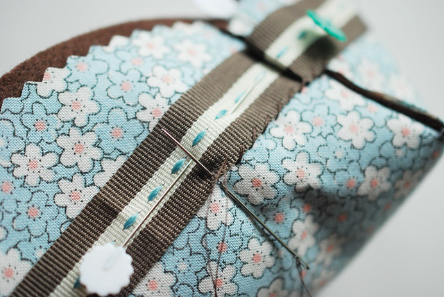Fabric Berry Basket