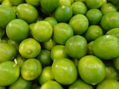 pea(0.0), vegetable(0.0), plant(0.0), crop(0.0), citrus(1.0), key lime(1.0), persian lime(1.0), green(1.0), produce(1.0), fruit(1.0), food(1.0), lime(1.0),