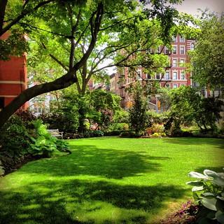 Jefferson Market Community Garden - Greenwich Village, New York City