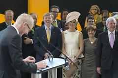 Willem-Alexander und Máxima zu Besuch im Adam-Opel-Haus