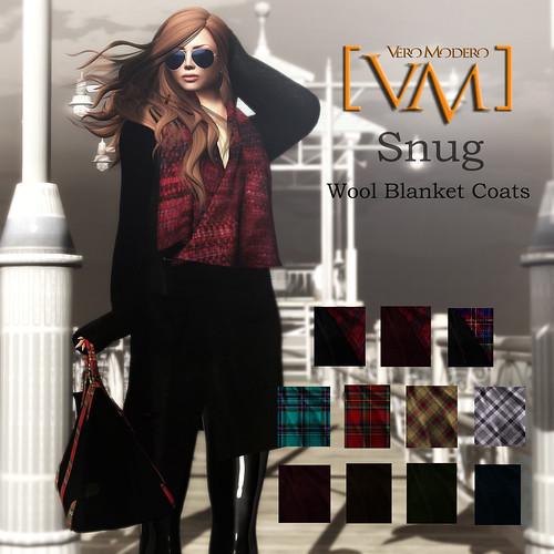 [VM] VERO MODERO  Snug Coats All Pattern