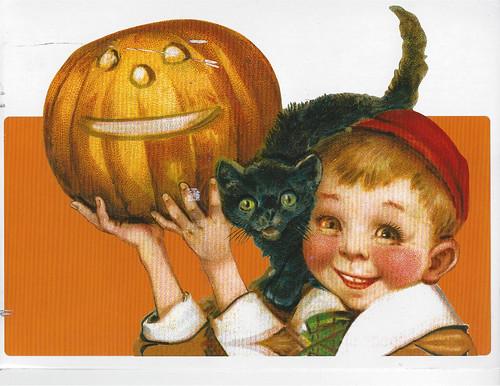 Vintage Halloween Boy