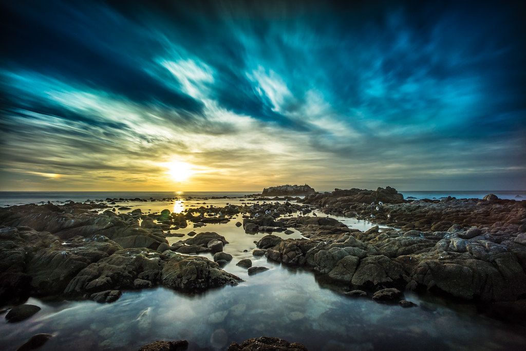 Sunset in Sunset Drive, Monterey, California, United States picture