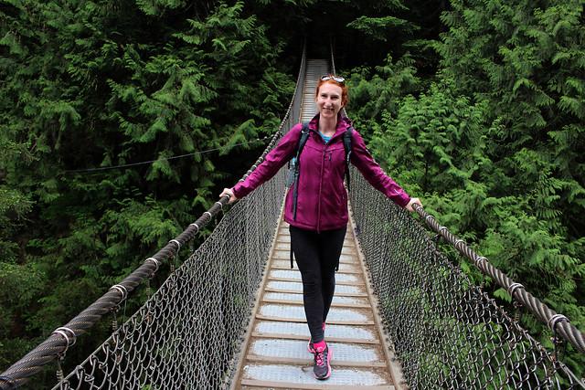 North Vancouver Lynn Canyon Bridge Walk