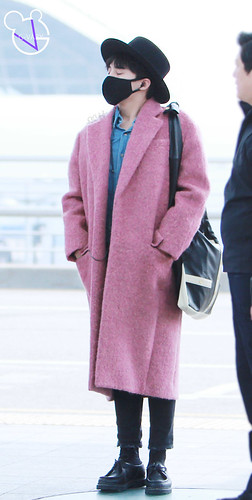 Big Bang - Incheon Airport - 21mar2015 - G-Dragon - G_Vaby - 10