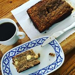 Freshly Baked Gluten Free Banana Bread :bread: yum #fresh #bread #banana #glutenfree #baked by @ingebeckmann :yum: