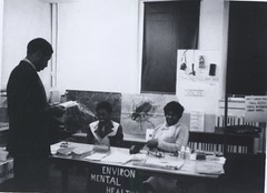 Environmental health Information day at Adams Elementary School, 1970
