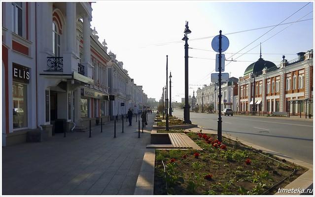 Улица Ленина. Омск