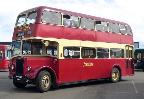WAL 782 'Barton Transport' No. 782 Leyland Tiger PS1 / Willowbrook on 'Dennis Basford's railsroadsrunways.blogsot.co.uk'