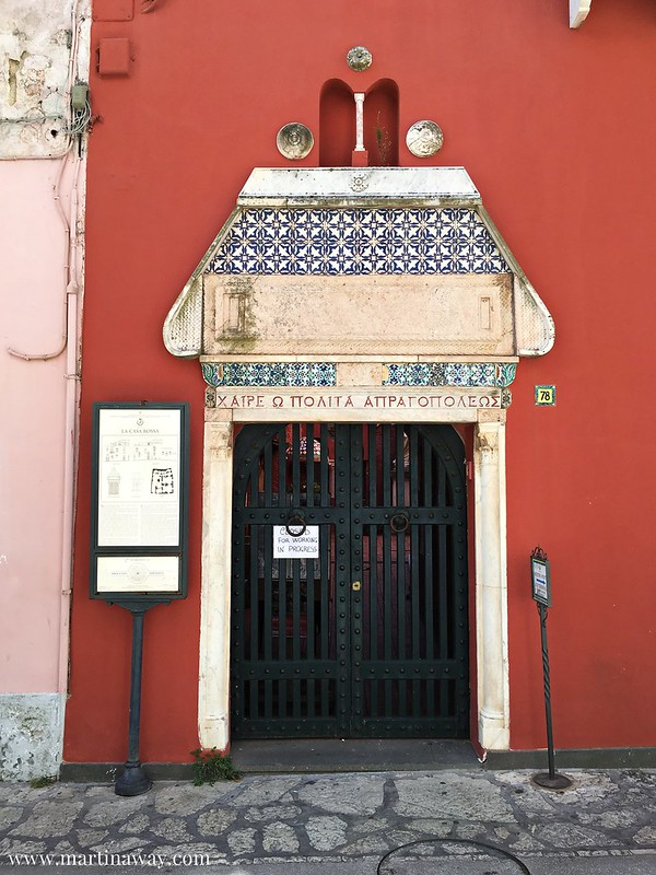 Casa rossa, Anacapri