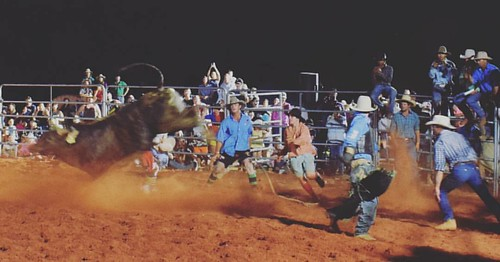 So happy I got to check out last nights Rodeo at Whim Creek. What an awesome night! Watch this space for 5 reasons you should head to a good ole' country rodeo! Yeeehaahh! * * * * * #rodeo #ragingroughstock #yeeehaa #countryevent #5reasons #mtbrodeo #buck