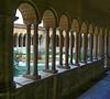 A small hidden cloister in Rome