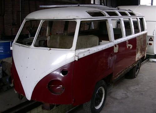 01-35-EL Volkswagen Transporter Samba 21raams 1967