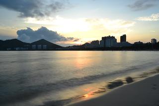 Изображение 大东海 Da Dong Hai Beach Пляж длиной 1741 м.