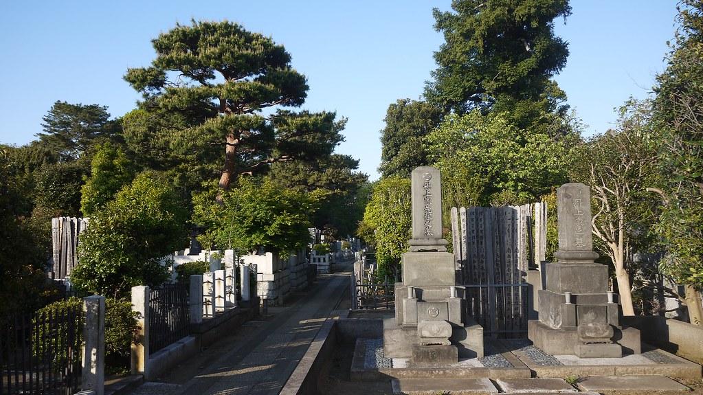 Gokoku-ji Cemetery