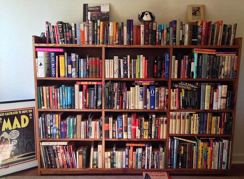 My father-in-law made us a bookshelf. by Bart King