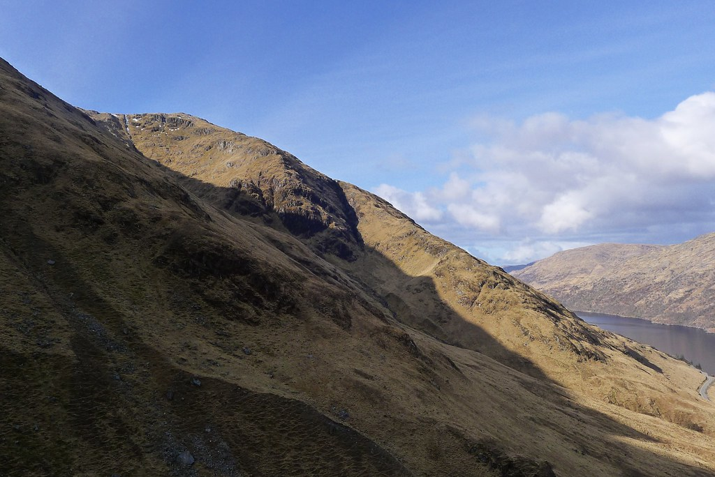 Slopes of Meall nan Creag Leac