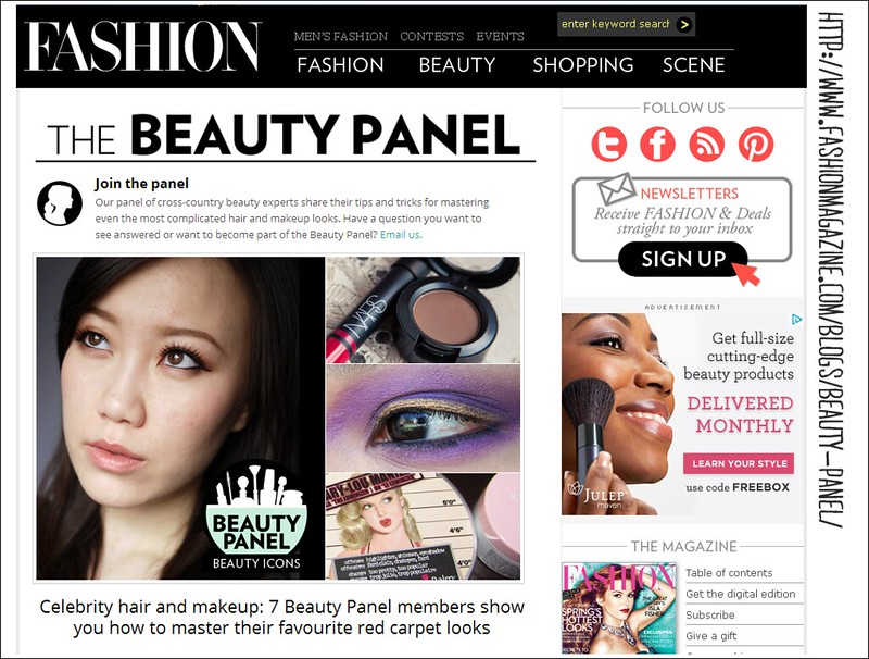 Beauty Panel_ Celeb Icon Week Snap