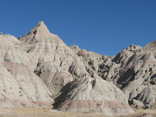 The beginning of the Saddle Pass Trail, Badlands National Park, South Dakota