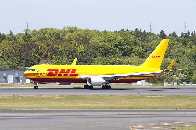 DHL B767-300F