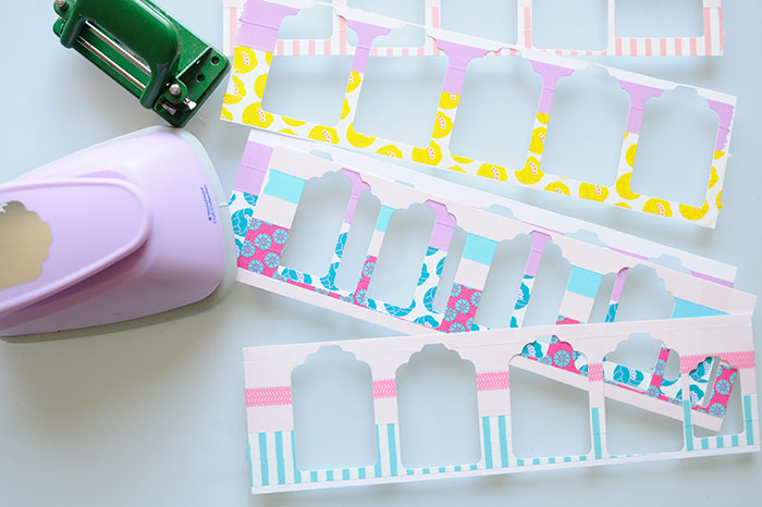 Making Washi Tape Gift Tags