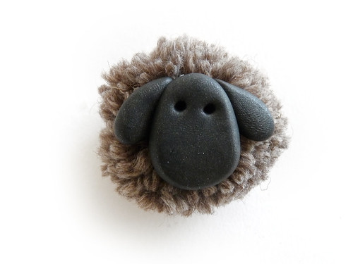 Tutorial: Make Your Own Wooly Sheep Keyring