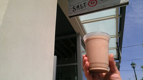 Salt and straw shake