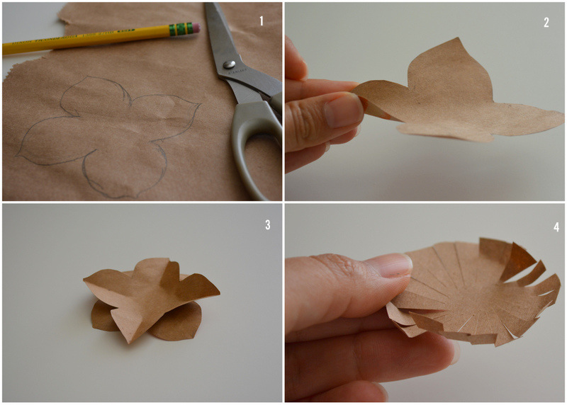 Upcycled Paper Flower - Instructions