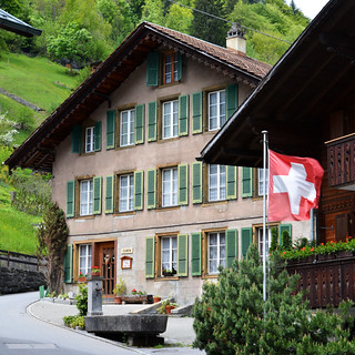 Hotel, Lauterbrunnen, Switzerland