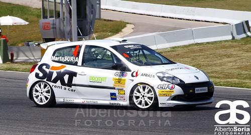 Marta Suria, ganadora en la categoría de Damas de la Clio Cup