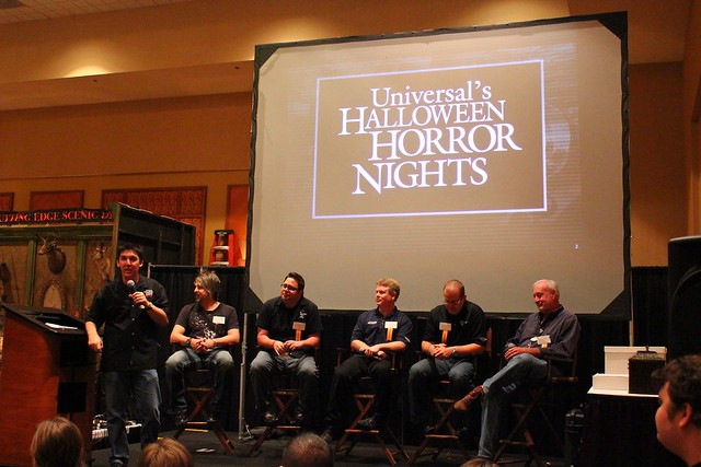 Halloween Horror Nights presentation at Halloween Extreme 2013