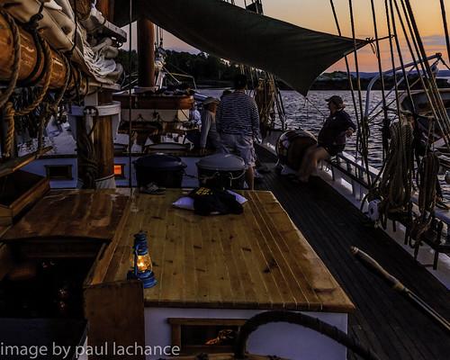 sunset coast twilight ship availablelight ambientlight maine lantern schooner canonef24105f4l