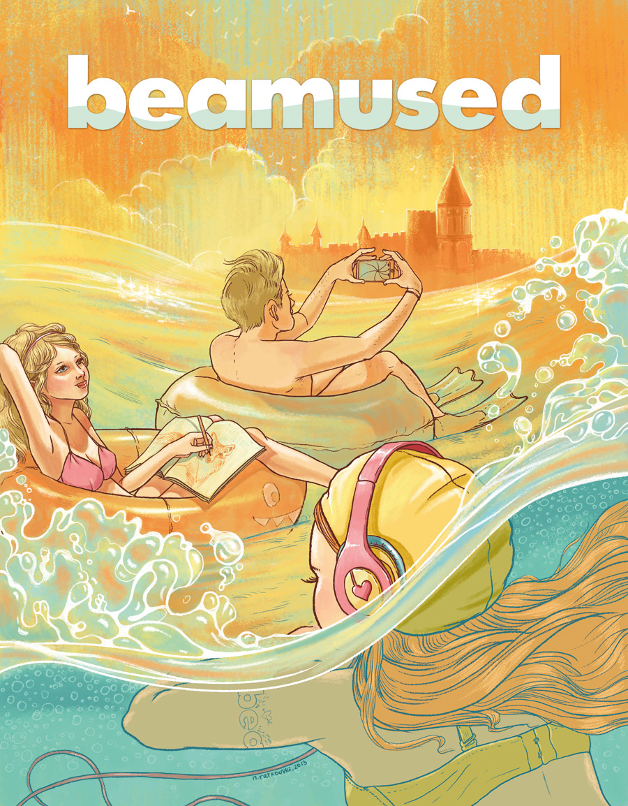 My Cover-Illustration for Beamused #4