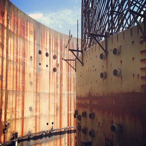 Remnants of a nuclear plant #exploringtheforgotten  #thesouthern1800