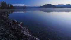 Lake Wanaka, Dawn.