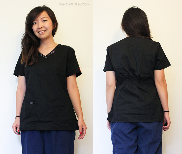 scrubs for petite women