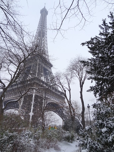 Jack Frost called on Paris