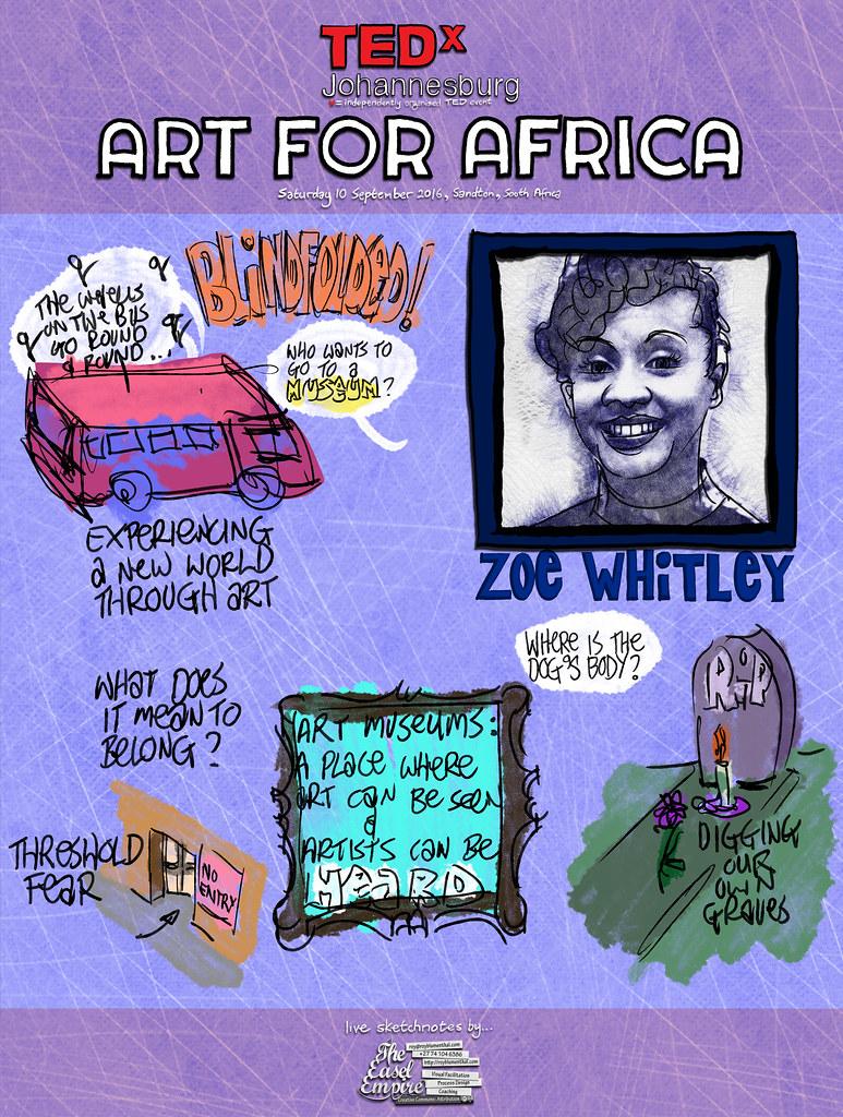 1 of 12 TEDxJohannesburg — Zoe Whitley