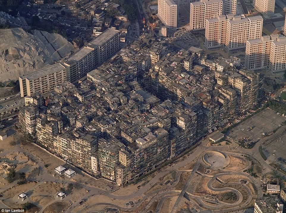 城市文化/消逝的黑暗三不管之城:九龍城寨7