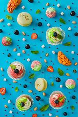 Sweet patterns: cupcake