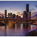 Brisbane City skyline by pbaddz