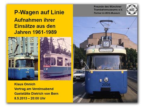 Vortrag: P-Wagen auf Linie 1961 bis 1989