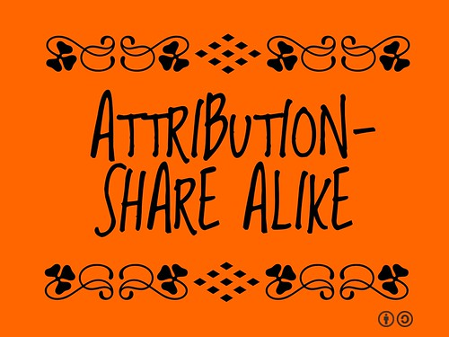 Buzzword Bingo: Attribution-Share Alike #open #creativecommons