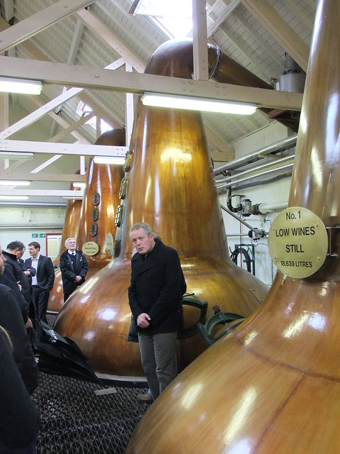 Skulking around amongst Tamdhu's stills
