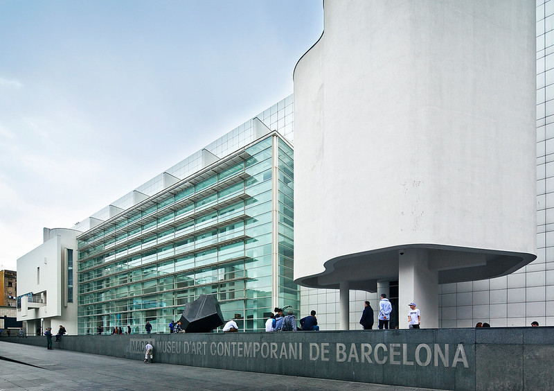 Barcelona Museum of Contemporary Art | Barcelona, Spain | Richard Meier