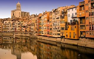 Girona goza de un emplazamiento privilegiado.