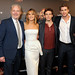 Director Francis Lawrence, Jennifer Lawrence, Sam Claflin , Liam Hemsworth, Red Carpet Arrivals at Lionsgate's The Hunger Games: Catching Fire Cannes Party at Baoli Beach sponsored by COVERGIRL