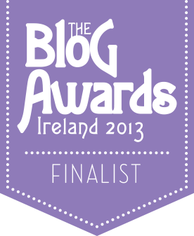 Blog Awards Ireland 2013 Finalist